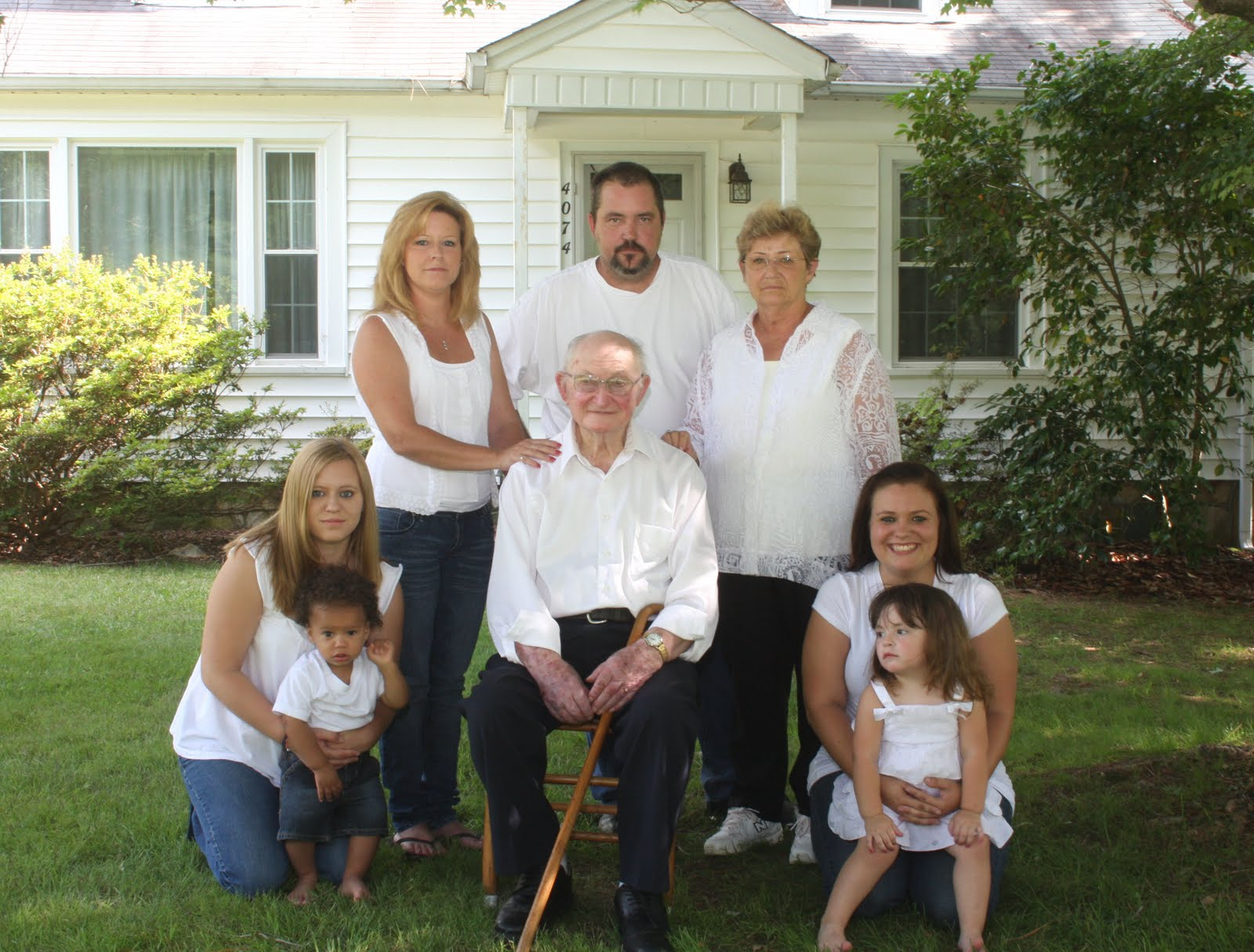 Amanda Marie Photography 5 Generation Family Portraits