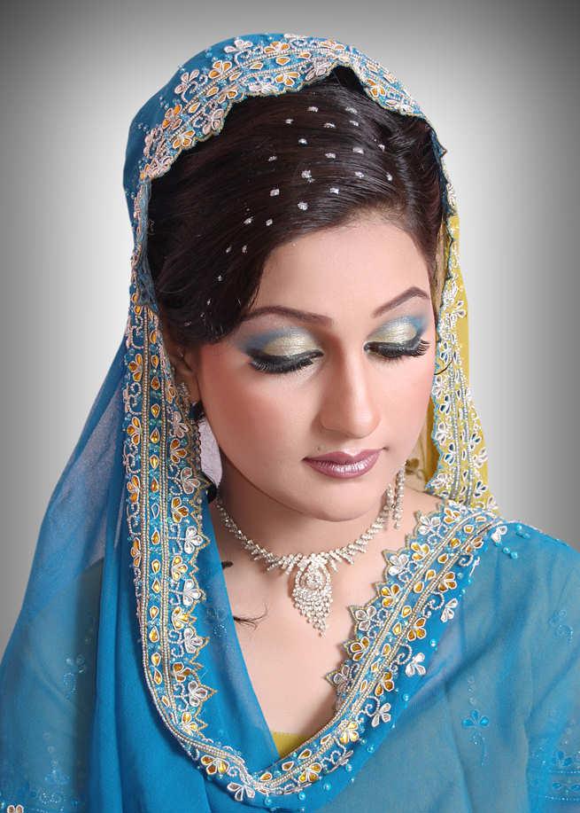 Bridal Makeup New Pics : New look Bridal Makeup Uzma Abrar