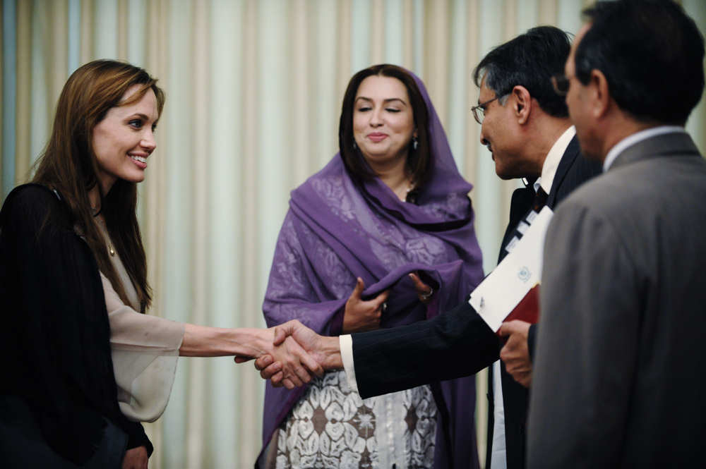 angelina jolie unhcr. Angelina Jolie On UNHCR