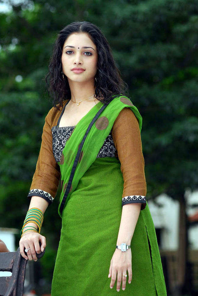 Easy Hairstyle For Salwar Suit : Tamanna bhatia hq photos cute indian actress ~ mila kunis