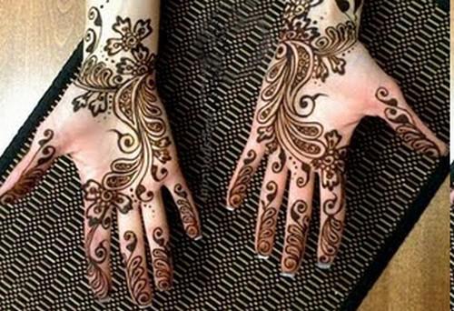 Mehndi Designs Churidar : Most beautiful full hands mehendi designs for groom marraige