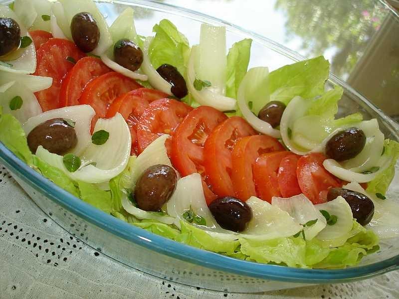 Las recetas de silvia como presentar ensaladas para for Decoracion de ensaladas