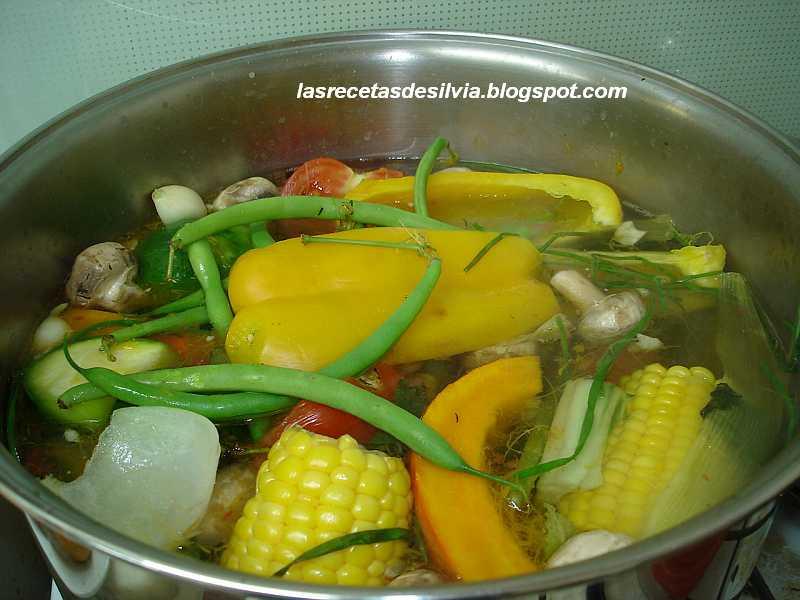 Las recetas de silvia menestra de verduras para la cena - Hacer menestra de verduras ...
