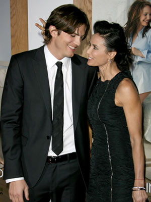 Photos: Ashton Kutcher and Demi Moore look in love