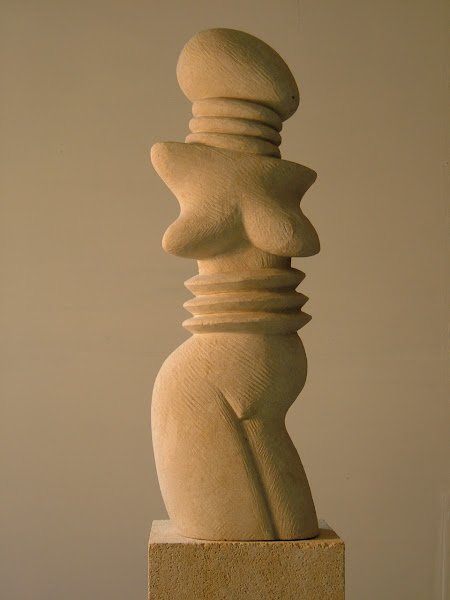 early limestone Goddess (Pre Stones Series)