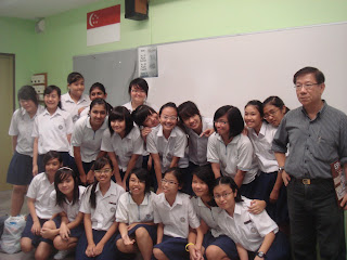 yo uploaded the photos of the class =)