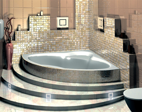 Jacuzzi Ideas Modern Home Exteriors - Bathroom with jacuzzi and shower designs