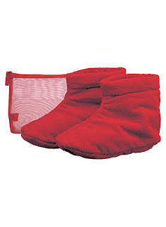 lg cranberry heatableBooties hol07 Cornucopia of Cosmetics