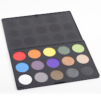theatrical palette Starlet Cosmetics Winner