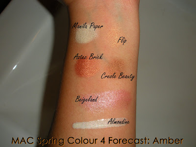 MAC+Spring+Colour+Forecast+4+Swatches MAC Spring Colour Forecast and Riveting Swatches