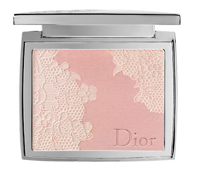 Dior+Lace+Poudrier+Dentelle+Illuminating+Lace Effect+Powder+For+Face Dior: Dentelle Collection for Spring 2010