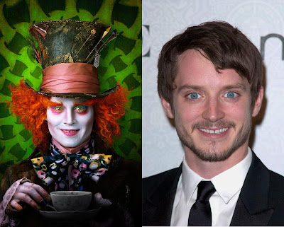  Is The Mad Hatter Johnny Depp or Elijah Wood?