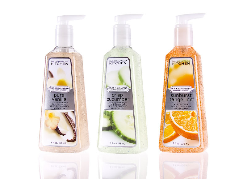 Bath & Body Works Healthy Clean Kitchen Collection title=