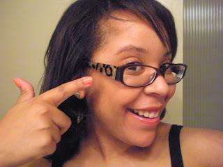 My New Glasses: Kate Spade Liesel Frames