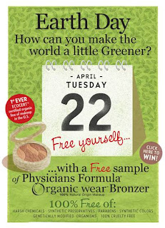 pf earthdaygiveaway Win Free Physicians Formula Organic Wear Bronzer Today!