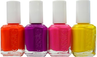 essie neon collection Trend Alert: Fluorescent Fingernails