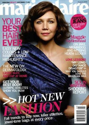 maggie+gyllenhaal+marie+claire Why Bother: Maggie Gyllenhaals Nails for Marie Claire, August 2008
