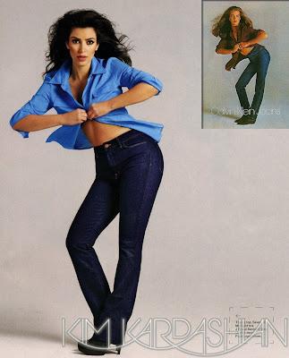Kim+Kardashian+J+Brand+Jeans American Booty