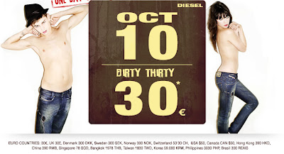 diesel Diesel Wants You To Get DirtyFor 50 Bucks