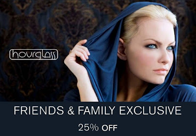  Hourglass Cosmetics Friends &amp; Family: 25% Off