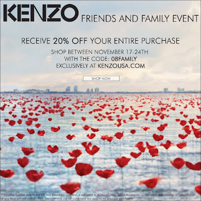 kenzo+friends+and+family Kenzo Friends & Family