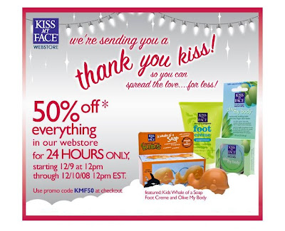 50+percent+kiss+my+face 50 Percent Off Kiss My Face!