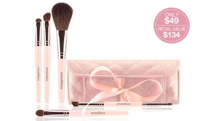 smashbox+travel+brush+set Smashbox: Try 4 Jumbo Samples 4 Free!