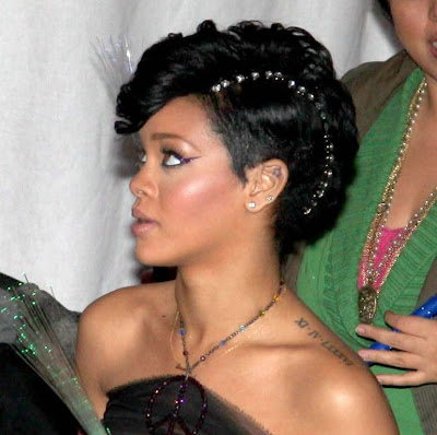 rihanna+palais4 For Best Use Of Hair Accessories, The Award Goes To Rihanna