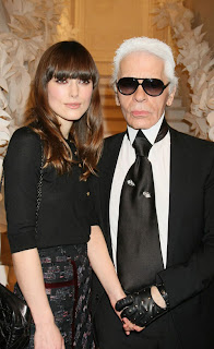 keira+knightley+karl+lagerfeld Keira Knightley At Chanel Haute Couture Spring/Summer 2009 Show