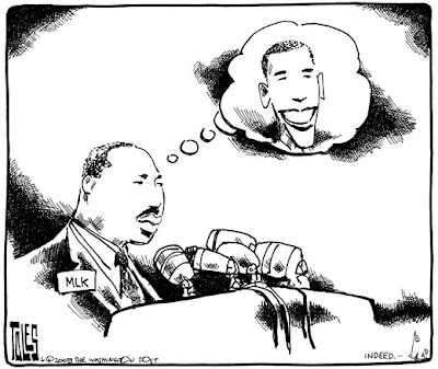 mlk+obama Happy MLK Day!