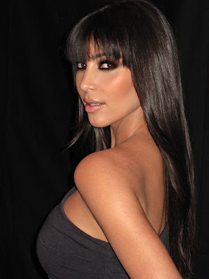 kim kardashian makeup lesson. On her blog, Kim Kardashian