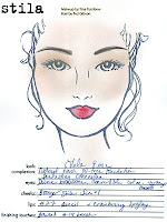 lela rose face chart spring+2009 I Went Backstage With Lela Rose, Now You Can Too   Thanks to Stila and Beauty.com!