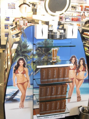 kardashian+glamour+tan Kardashian Sisters Launch Self Tanning Gel at Sephora