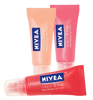 nivea+a+kiss+of+shine Nivea Lip Care Giveaway!!!