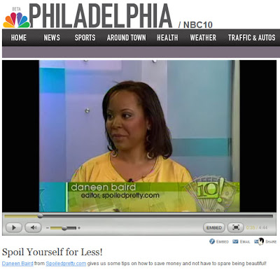 daneen+baird+on+nbc+10+show Watch Me On The NBC 10! Show