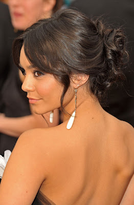 vanessa hudgens oscars 2009 hair Oscars 2009 Beauty: Vanessa Hudgens