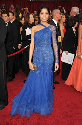 freida pinto academy awards 2009 Oscars 2009 Beauty: Freida Pinto