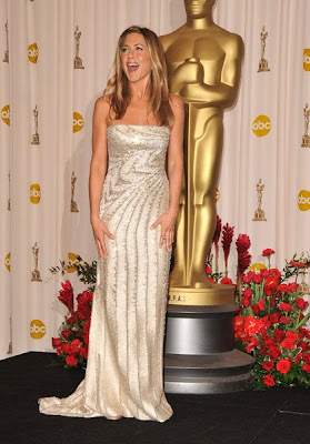 jennifer aniston oscars 2009 Oscars 2009 Beauty: Jennifer Aniston