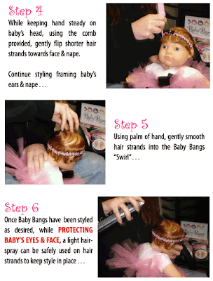 steps4 6 Baby Bangs: For The Girl Who Has Everything...Except Hair