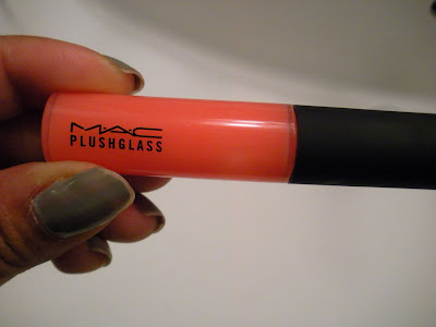  My Latest MAC Acquisition: Plushglass in Fulfilled