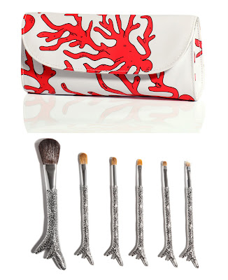 sonia+kashuk+hidden+treasure+brush+set Sonia Sells Seashell Inspired Brushes at Target Stores
