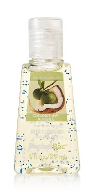 coconut+lime+verbena+anti bac+deep+cleansing+gel Bath &amp; Body Works Giveaway Winners