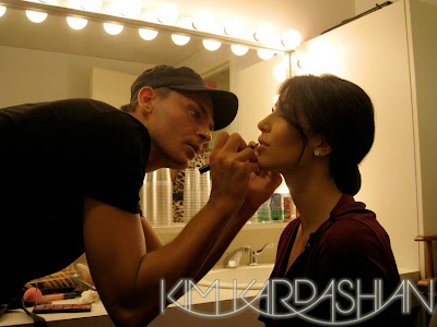 mario+doing+kim+kardashian+makeup Interview With Mario Dedivanovic, Kim Kardashians Makeup Artist!