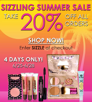 too+faced+summer+sale Too Faced Summer Sale: Take 20% Off All Online Orders