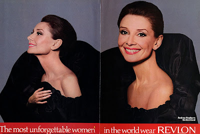 198809RevlonAudreyHepburn 1 The Beauty Girls Weekend Read
