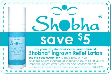 shobha+coupon Shobha Ingrown Relief Lotion Exclusive Discount