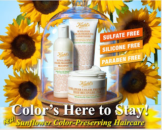 kiehls+sunflower+hair+care Bloggers Take Manhattan