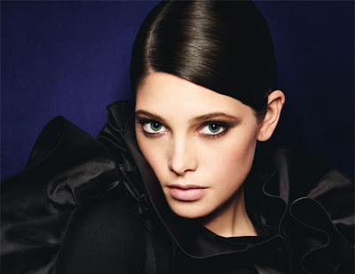 ashley+greene Twilight Beauty In September Issue Of Glamour