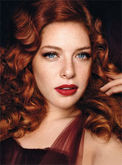 rachelle+lefevre Twilight Beauty In September Issue Of Glamour