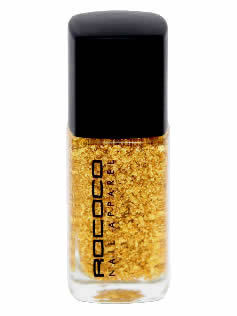 rococo gold leaf topcoat The Beauty Girls Weekend Read